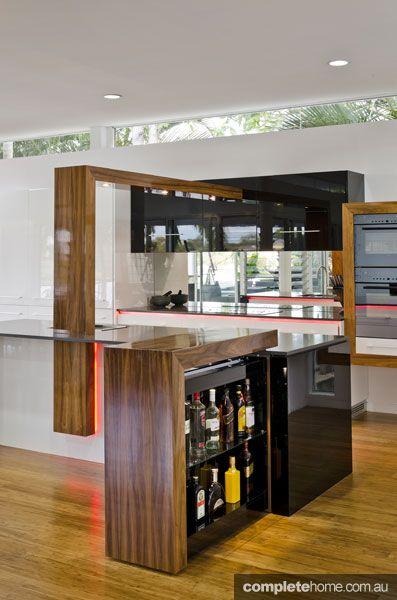 Concealed storage kitchen trend from Enigma Interiors