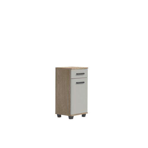Ebern Designs 40 X 91 Cm Badschrank Aceituno In 2020 Badschrank Wc Lagerung Und Schrank