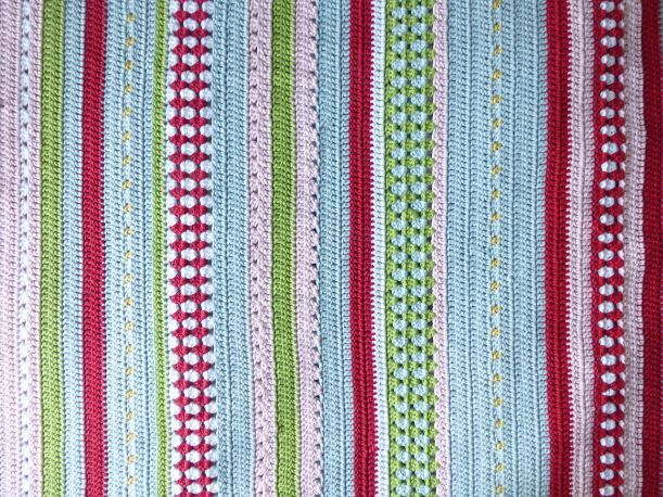 temperature crochet blanket - Google Search Sampler blanket ...