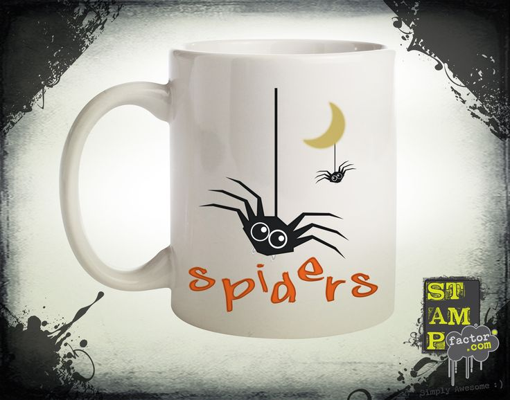 Spiders (Version 05) 2015 Collection - © stampfactor.com *MUG PREVIEW*