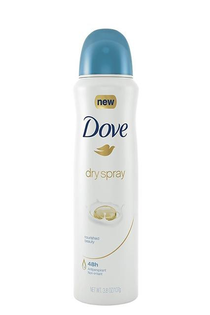 I've never been a fan of spray deodorant, but one that goes on dry? Worth checking out! Dove Dry Spray Deodorant, $5.49, available at Target