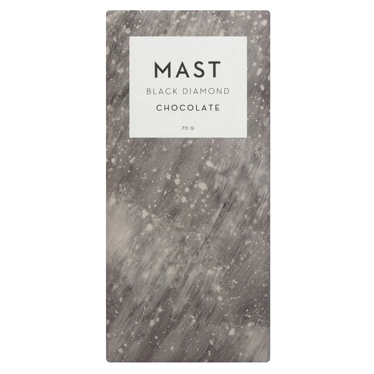 Calico Wallpaper uses salt to pattern chocolate packaging for Mast Brothers