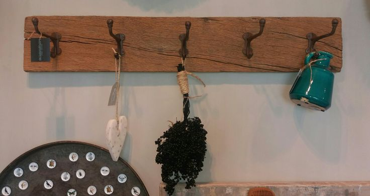 Stoere kapstok made by titus#de balans@home