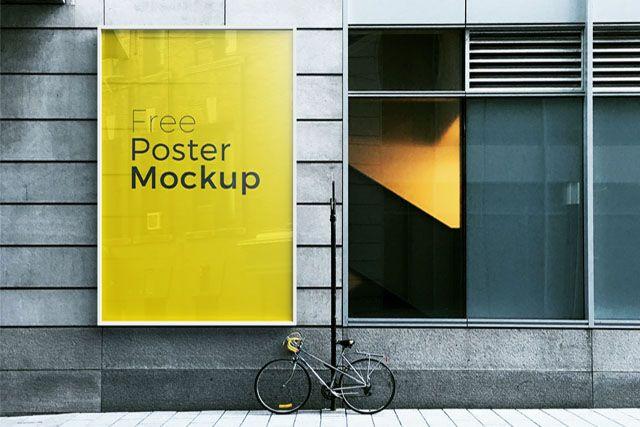 Download Free Poster Mockup Poster Mockup Billboard Mockup Poster Mockup Free