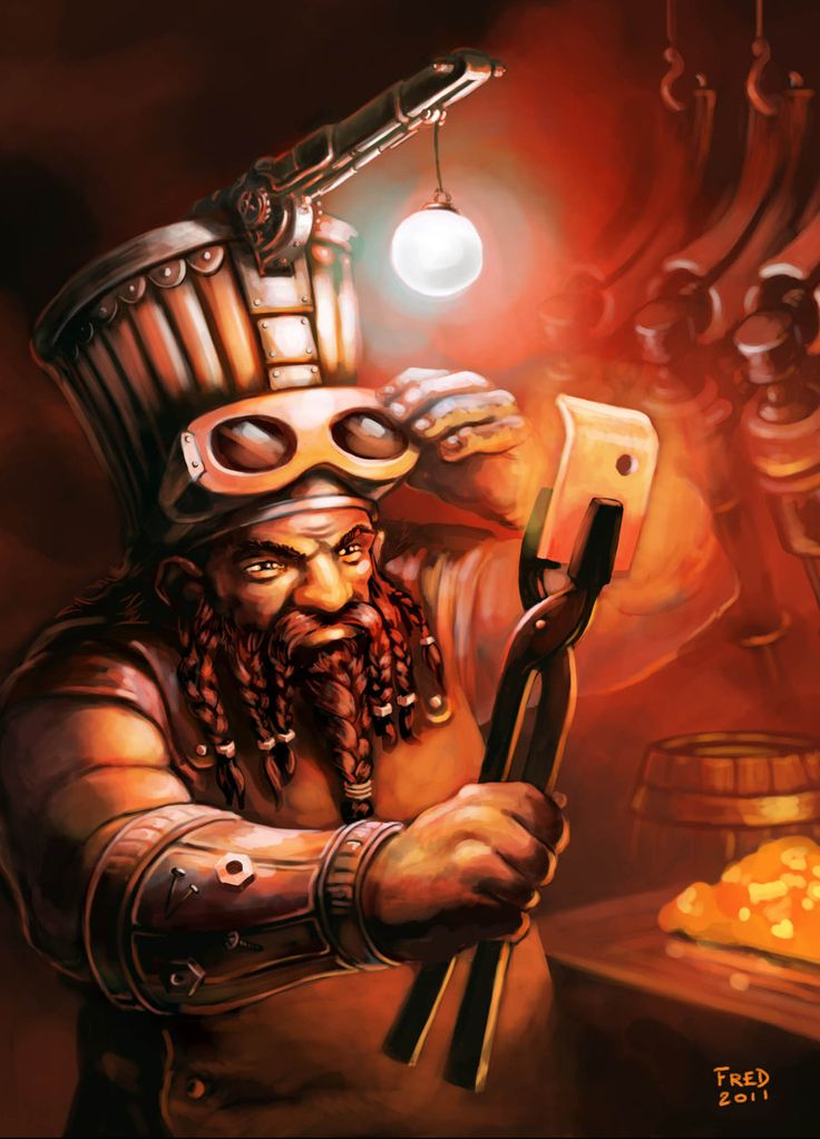 Chaos Dwarf Blacksmith by zompf on DeviantArt