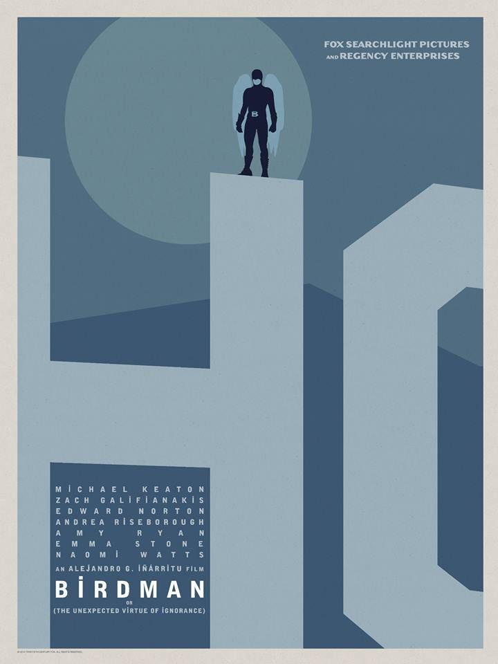 | BIRDMAN City Poster | Hollywood