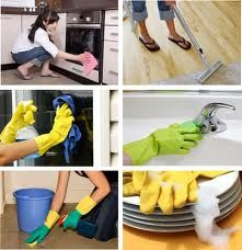 Various type of cleaning service.