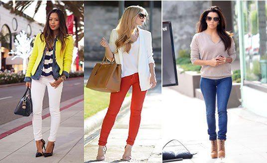 Patrón de pantalones ajustados