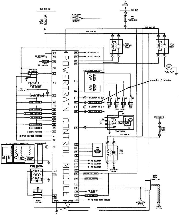 Dodge Pcm Circuit Wiring Diagram – Dodge Neon Injector Wiring