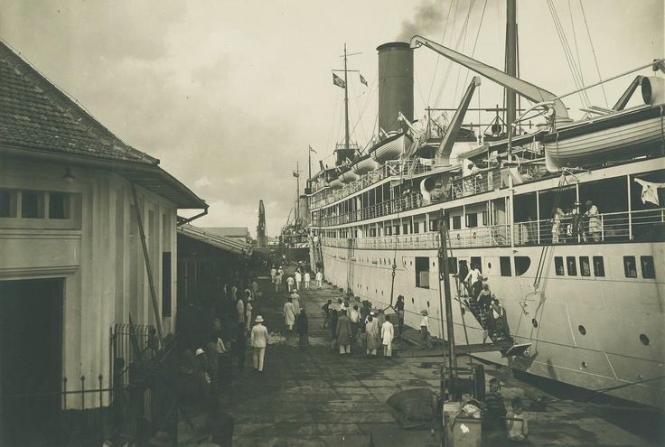 Amsterdamkade Soerabaja, 1924