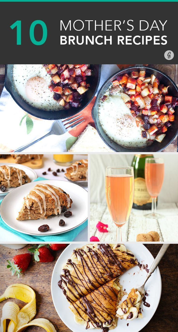 10 Easy Brunch Recipes to Make for Mother's Day | Mothers ...