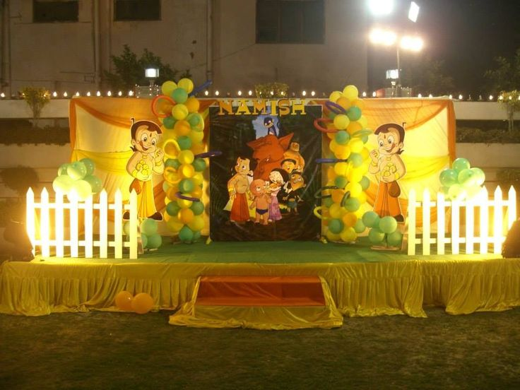 27 Bheem Decoration Design Gallery