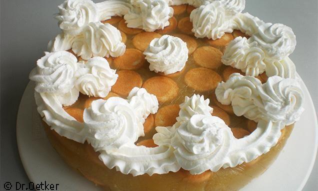 Nepečená jablková torta Recept | Dr. Oetker