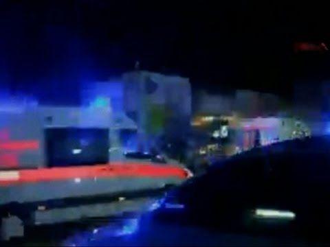Raw: 2 Blasts at Istanbul Airport Kill 10
