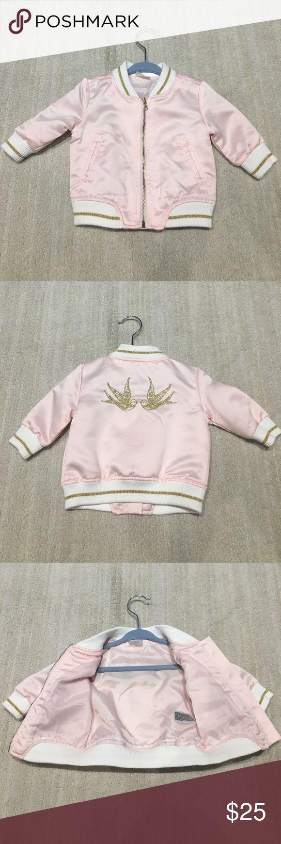 Kardashian Kids Pink Baby's Bomber Jacket Kardashian Kids Pink Baby's Bomber Jacket Kardashian Kids Jackets & Coats