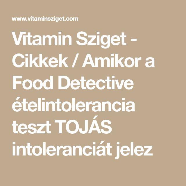 Vitamin Sziget - Cikkek / Amikor a Food Detective ételintolerancia teszt TOJÁS intoleranciát jelez