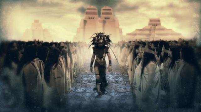 Pesquisadores afirmam que o ''Deus extraterrestre branco'' do povo Mesoamericano ajudou o desenvolvimento da humanidade no passado ~…