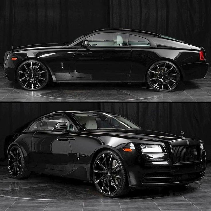 Onyx Black, White Interior Rolls-Royce Wraith, Ridin Glasshouse, No Tint Needed!!!!!