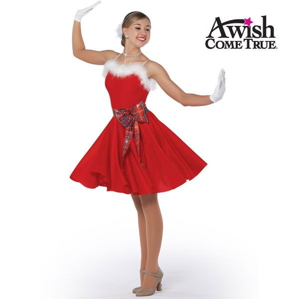 white-christmas-tap-jazz-dance-dress.jpg (600×600)