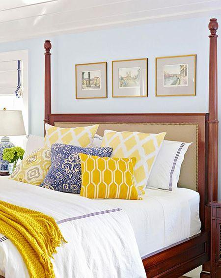 بهترین رنگ دکوراسیون تابستانی اتاق خواب