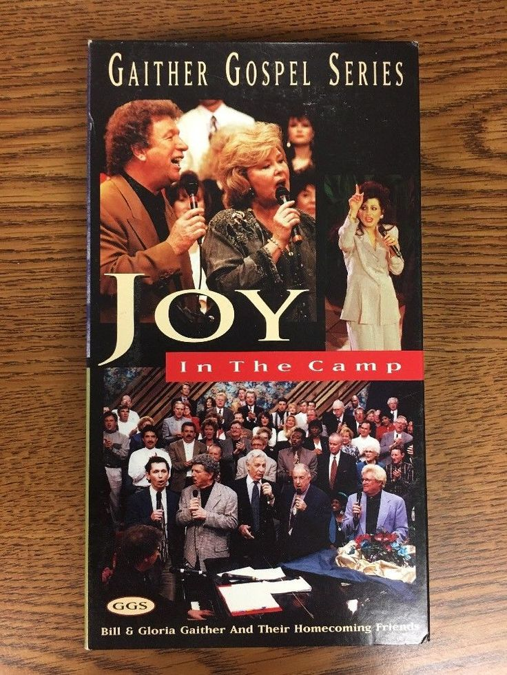 GAITHER GOSPEL SERIES Joy in the Camp (1996,VHS) Christian Music
