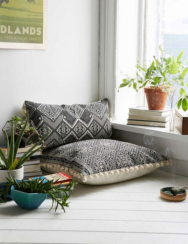 Lovely Sunday vibes... | My Cosy Retreat (not a cross stitch pillow, but it gives me an idea!)