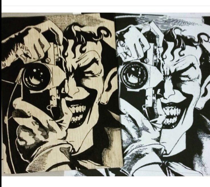 Portad Agenda! Joker Picture. Pintado a Mano. #GabbyDesing