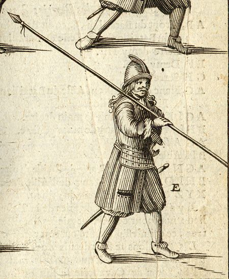 Pikeman 1671 A M Mallet