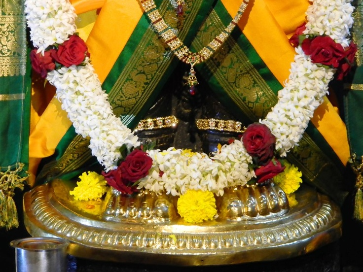 Daily Darshan (23-12-12) Holy Feet of Lord Balaji @ISKCONPune