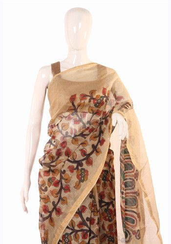 Cotton Kalamkari Saree – Desically Ethnic