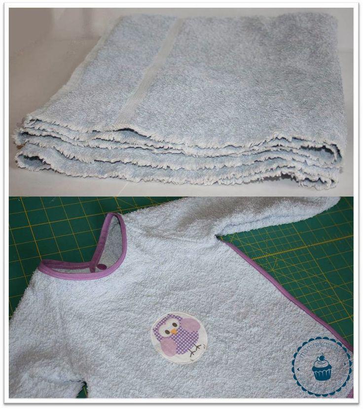 mommymade-blog: Upcycling: Handtuch -> Ärmellätzchen (aus Raglan-Schnitt)