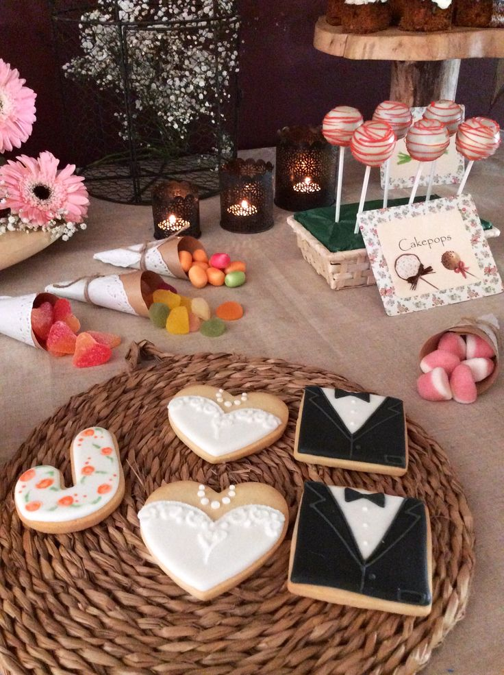 100 mejores im genes sobre mesas dulces boda en pinterest - Mesa de dulces para bodas ...