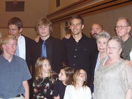 Paul Walkers Familie