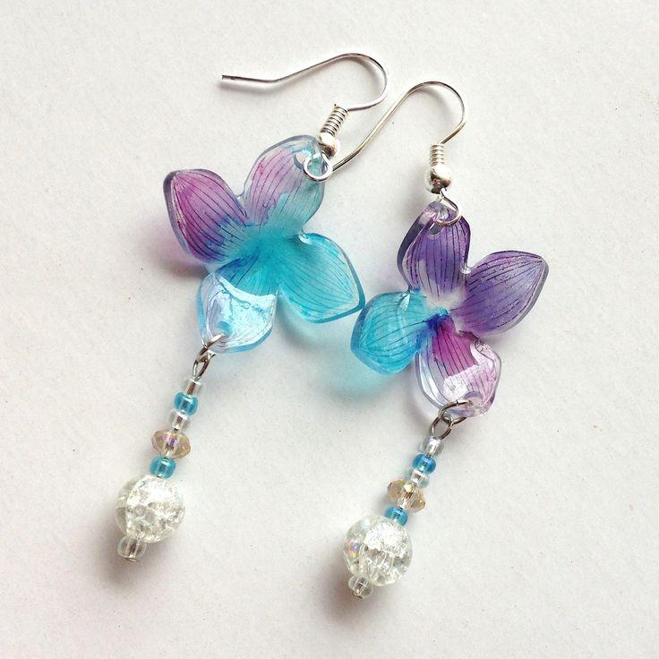 Hydrangea Earrings 紫陽花ピアス by NanaAkua