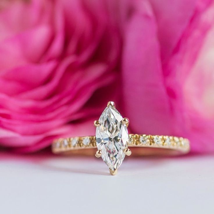 50 Best Images About Yellow Gold Rings On Pinterest