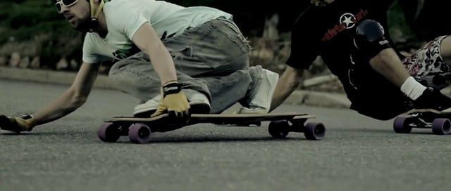 This is a short longboard film I recently produced. The idea behind it was to marry some slow motion longboard sliding to a 'glitch' track and mash it all up to the beat. I wanted the images and audio to become one. Also wanted to try some super slow shots and see how far I could push optical flow.  Camera // Canon 7D, GoPro HD Lenses // Canon 24-105mm L f4, Canon 50mm f1.8, Tokina 11-16mm f2.8 Software used // Final Cut Studio, Photoshop CS4  Shot/directed/cut by Benjamin Dowie Music...