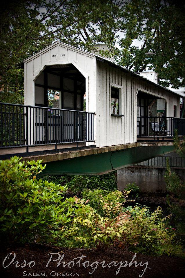 Covered Bridge - Salem Oregon USA