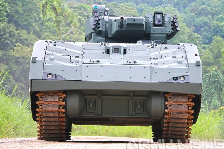 Senang Diri: Eight things to note about the Singapore Armed Forces SAF New Armoured Fighting Vehicle
