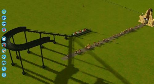 """My Roller Coaster Tycoon experience summed up in a single gif"""