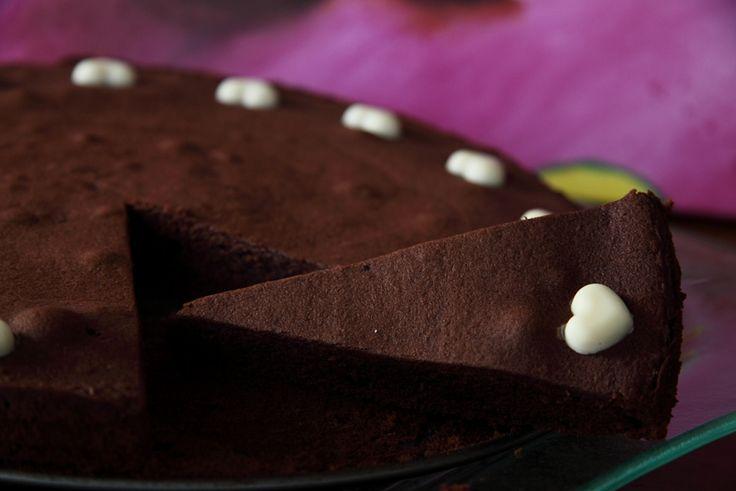 Francouzský čokoládový koláč