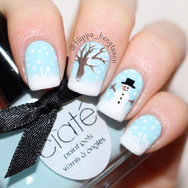 christmas by filippa_bengtsson #nail #nails #nailart