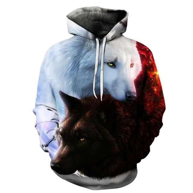3D Printed Hoodies - Men Hooded Sweatshirts - Pullover Pocket Jackets picture co 7