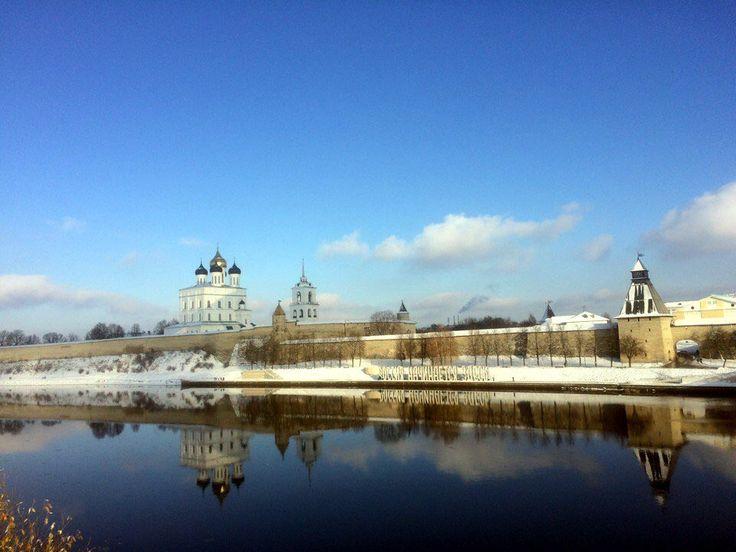 Псковский Кремль, ноябрь 2016 года