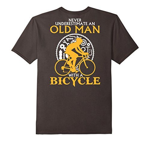 Men's Old Man on a Bicycle T-Shirt