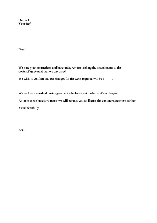 17 Best images about Agreement Letters – Letter of Engagement Template Free