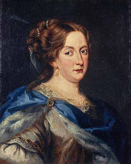 Queen Christina of Sweden (1626 - 1689), Jacob Ferdinand Voet (National Galleries, Scotland)