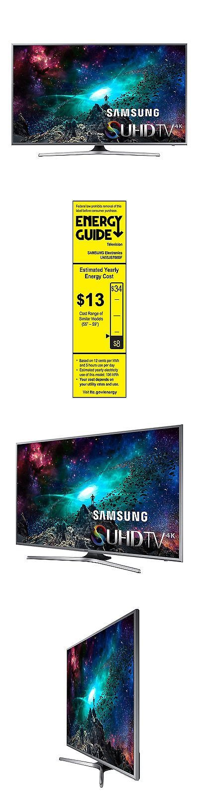 Televisions: Samsung 55 Class 4K Ultra Hd Smart Tv - Un55js700d New BUY IT NOW ONLY: $802.26