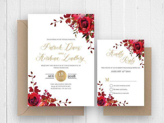 Pin On Wedding Invitation