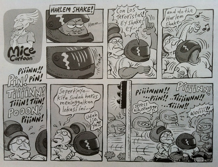 Mice Cartoon: Harlem Shake (Kompas, 03.03.13)