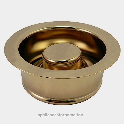 Tarnish Free Polished Br Finish Garbage Disposal And Stopper Fits Ge Ise Kenmore Kitchen Aid